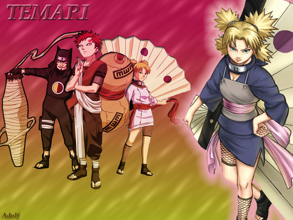 Temari Wallpapers