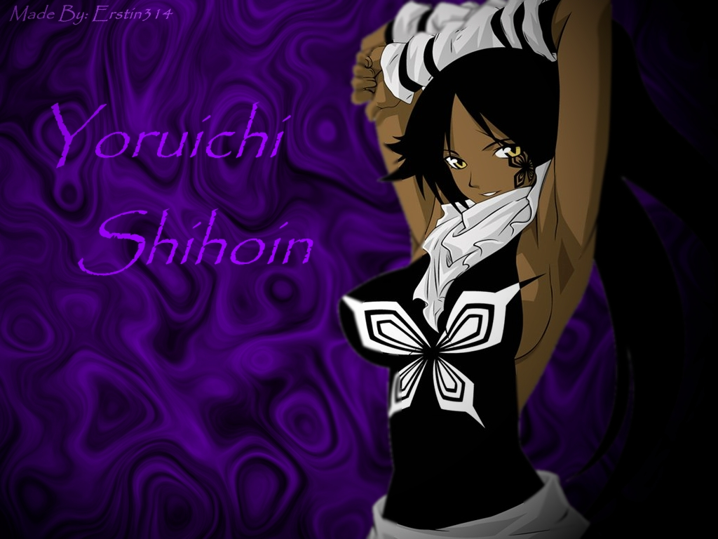 Yoruichi Shihōin former Captain of the 2nd Division of the Gotei 13