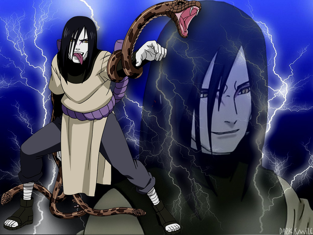 Orochimaru Wallpaper