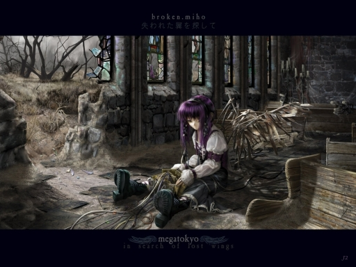 Megatokyo- Broken Miho