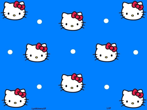 Hello Kitty (blue)