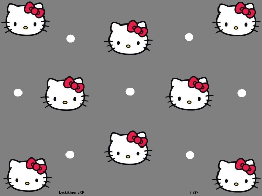 Hello Kitty (gray)