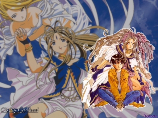 Keiichi and Belldandy