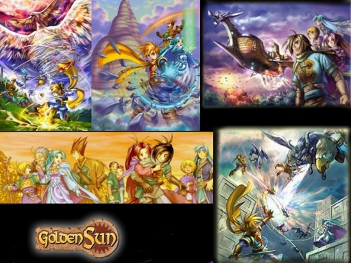 Golden Sun Collage