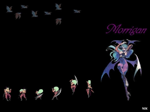 Darkstalkers:  Morrigan