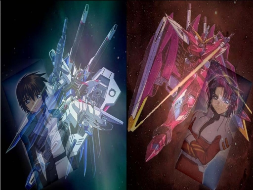 Kira & Freedom, Athrun &am