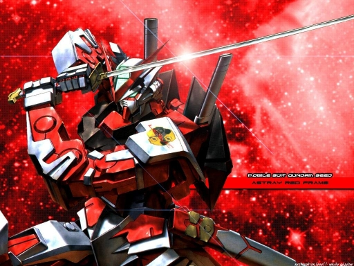 Gundam Seed Astray Red Fram