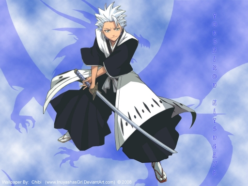 hitsugaya wallpaper. Captain Hitsugaya
