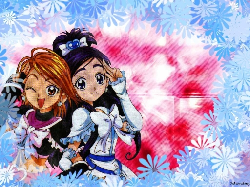 Pretty Cure- White Cure/ Flowe