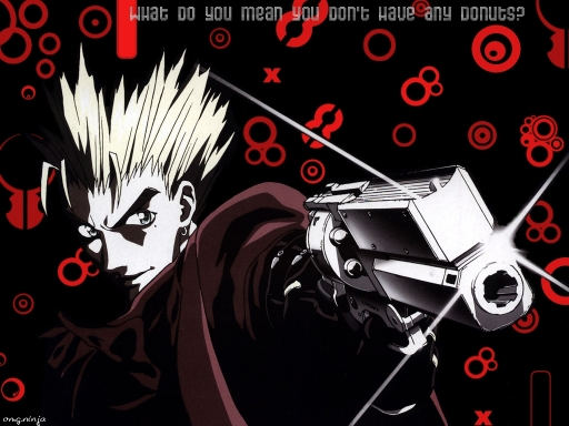 Vash On A Donut Rampage