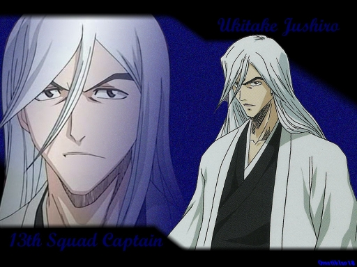 Bleach: Jushiro Ukitake - Picture Colection