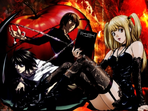 wallpaper death note. Death Note Wallpaper v2