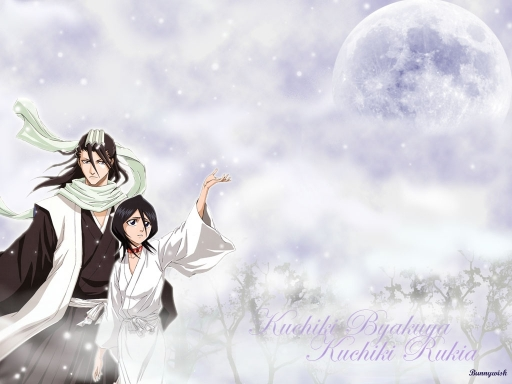 Byakuya And Rukia
