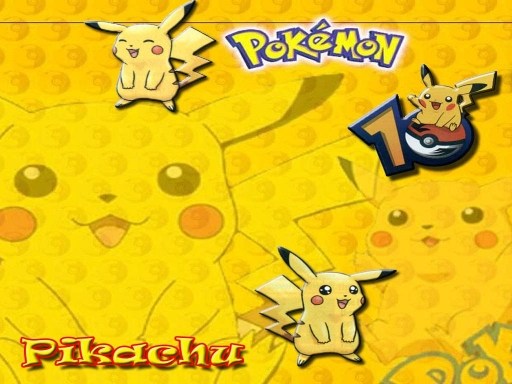 Pikachu All Over