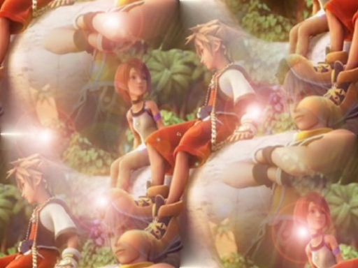 Kingdom Hearts: Sora And Kairi