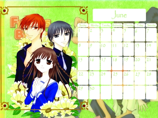 Fruits Basket June 2008