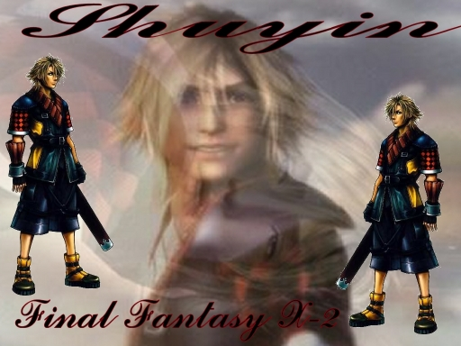 final fantasy 10 wallpaper. shuyin final fantasy x-2