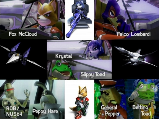Starfox Team (assault Ver.)