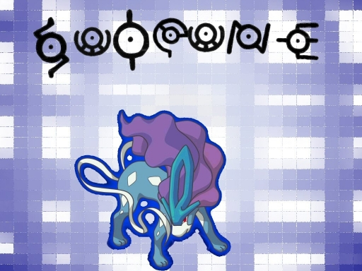 Suicune and the unknown